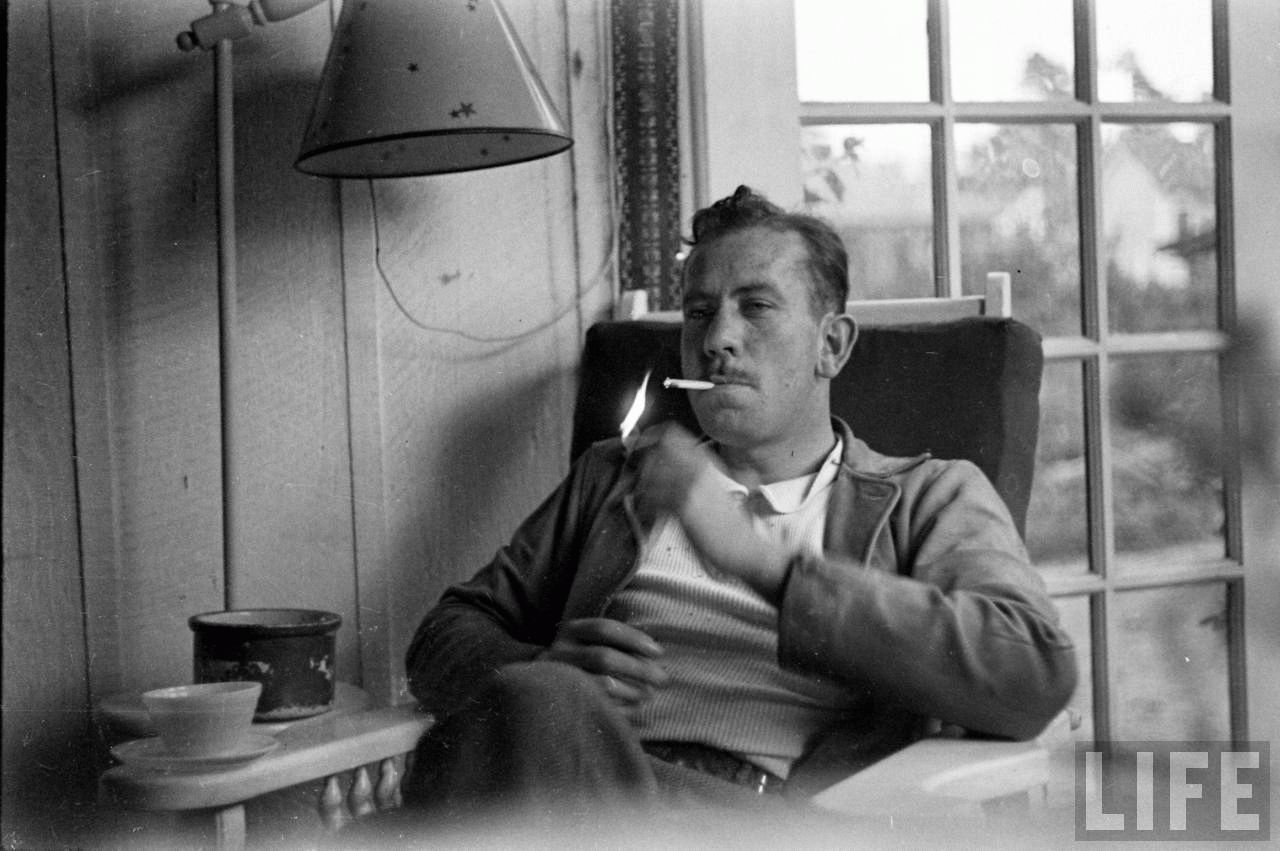 an analysis of the writing technique of john steinbeck in the grapes of wrath and of mice and men